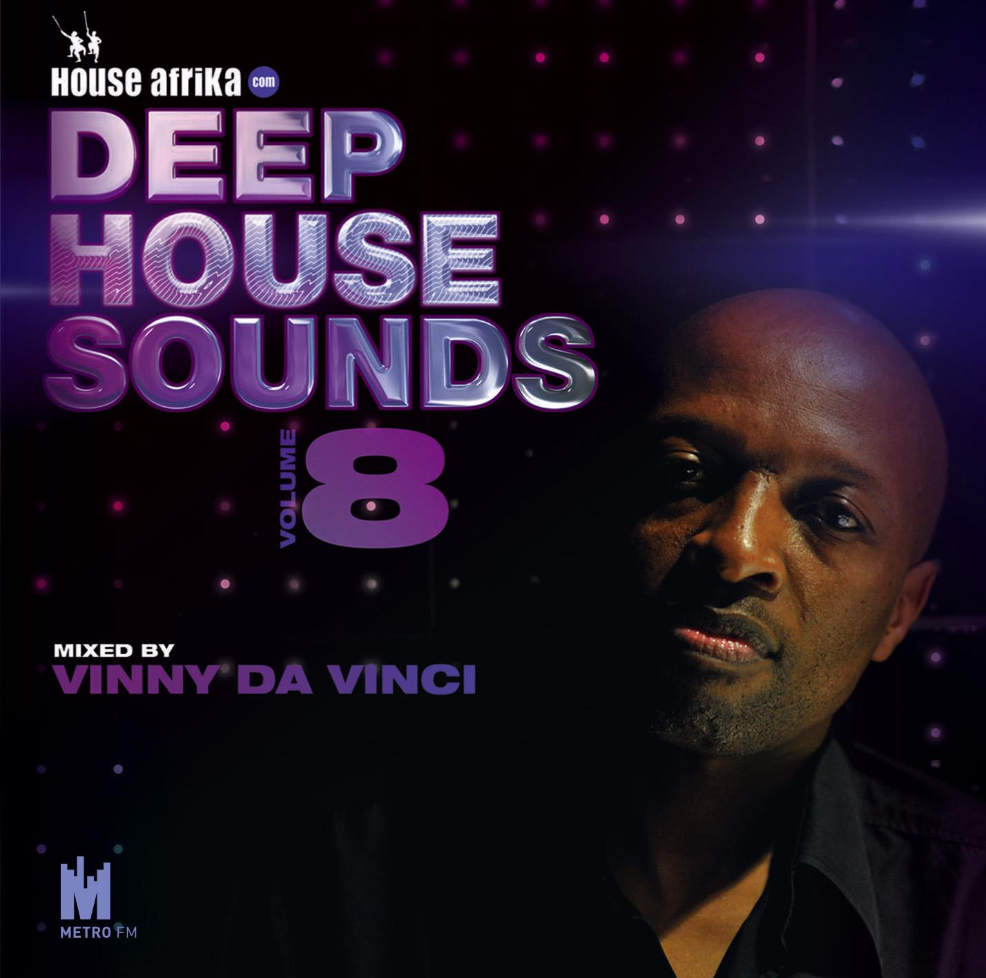 House afrika deep house sounds vol 8 mixed by vinny da for Deep house music